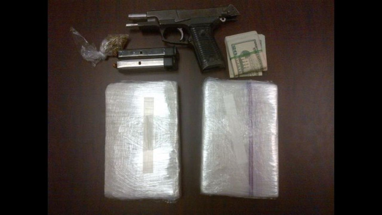Sheriff: 2 arrested after 2 kilos of cocaine found during    - WSOC