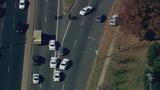 Scene of east Charlotte crash - (3/8)