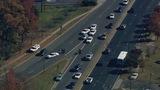 Scene of east Charlotte crash - (8/8)