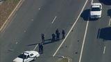 Scene of east Charlotte crash - (5/8)