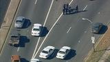 Scene of east Charlotte crash - (4/8)