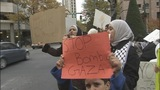 Gaza supporters rally Sunday in Uptown - (1/10)