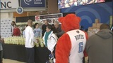 Bobcats help distribute hundreds of… - (12/13)