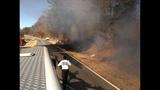Firefighters battle fire Thursday on York Highway - (2/3)