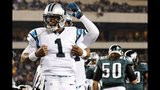 IMAGES: Panthers beat Eagles on Monday Night Football - (13/16)
