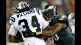 IMAGES: Panthers beat Eagles on Monday Night Football - (2/16)