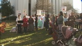 Supporters attend rally for woman who faced… - (3/6)