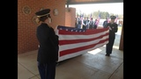 IMAGES: Veteran recieves hero's farewell - (1/5)