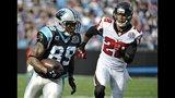 IMAGES: Panthers stun Falcons 30-20 - (10/19)