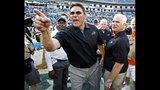 IMAGES: Panthers stun Falcons 30-20 - (12/19)