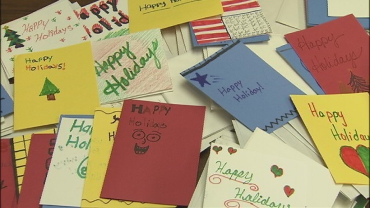Charlotte Man Collecting Holiday Cards For Military Members Being