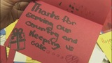 Man collects hundreds of cards for military members - (2/9)