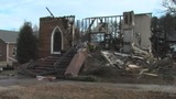 IMAGES: Fire at 100-year-old church considered arson - (7/8)