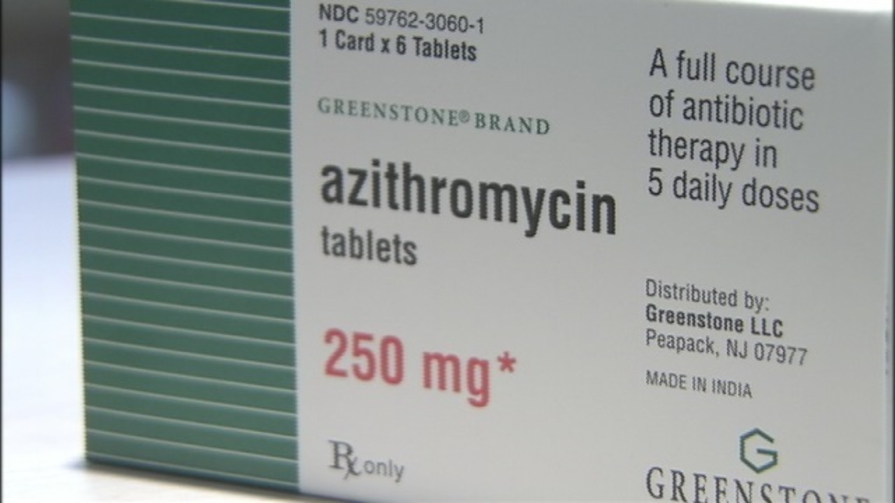 Azithromycin 5 day dose pack instructions