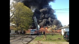 IMAGES: Scene of Gastonia warehouse fire Saturday - (14/15)