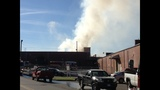 IMAGES: Scene of Gastonia warehouse fire Saturday - (2/15)
