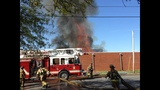 IMAGES: Scene of Gastonia warehouse fire Saturday - (7/15)