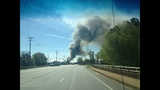 IMAGES: Scene of Gastonia warehouse fire Saturday - (6/15)