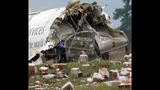 Photos: UPS plane crashes in Alabama - (14/25)