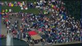 IMAGES: Moral Monday crowd growing at uptown park - (9/10)