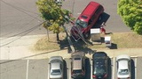 High-speed chase ends in dramatic crash in Plaza-Midwood
