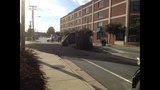 IMAGES: Truck overturns on Moorehead St.… - (1/5)