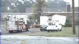 IMAGES: Trailer behind Gastonia school catches fire - (10/13)