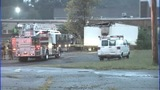 IMAGES: Trailer behind Gastonia school catches fire - (13/13)