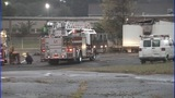 IMAGES: Trailer behind Gastonia school catches fire - (8/13)