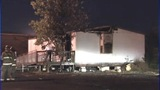 IMAGES: Trailer behind Gastonia school catches fire - (6/13)