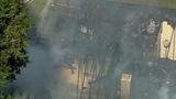 IMAGES: Chopper 9 shows major Rowan Co. house fire - (15/20)