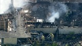 IMAGES: Chopper 9 shows major Rowan Co. house fire - (13/20)