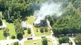 IMAGES: Chopper 9 shows major Rowan Co. house fire - (4/20)