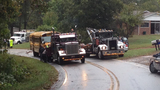 IMAGES: Scene of Burke Co. school bus crash - (4/5)
