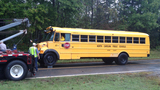 IMAGES: Scene of Burke Co. school bus crash - (2/5)