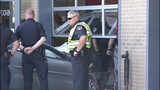 IMAGES: Police: Chase ends with car into fire station - (5/6)