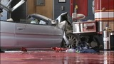 IMAGES: Police: Chase ends with car into fire station - (2/6)