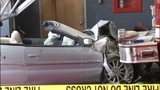 IMAGES: Police: Chase ends with car into fire station - (3/6)