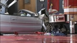 IMAGES: Police: Chase ends with car into fire station - (4/6)
