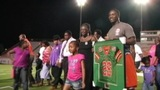 IMAGES: Jonathan Ferrell's jersey retired by FAMU - (4/10)