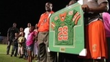 IMAGES: Jonathan Ferrell's jersey retired by FAMU - (9/10)