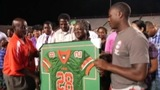 IMAGES: Jonathan Ferrell's jersey retired by FAMU - (2/10)