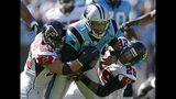 IMAGES: Panthers top Falcons 34-10 - (8/11)