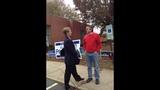 IMAGES: Peacock speaks at Lansdowne Elementary School - (3/8)