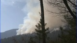 WEDNESDAY IMAGES: 100-acre wildfire in Linville Gorge - (10/25)