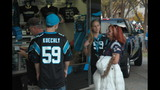 IMAGES: Behind the scenes at Panthers-Patriots game - (10/25)