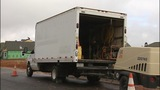 IMAGES: Scrap metal thieves use work trucks… - (6/8)