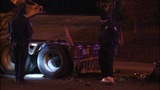 IMAGES: Scene of motorcycle vs. tractor-trailer - (12/12)