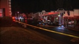 Flames rip through east Charlotte apartments… - (1/8)