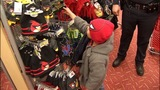 IMAGES: Police shop with children for Christmas - (3/4)